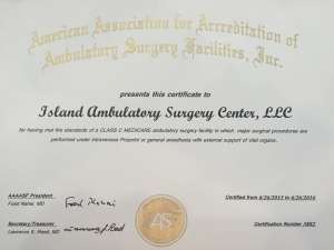Quad Accreditation Certificate - IASC